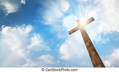 legno, cielo, croce