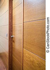 legno, commutatore leggero, porta, parete