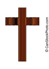 legno, cristiano, crocifisso
