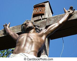 legno, croce, gesù