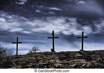 legno, crosses., vecchio