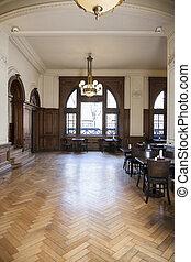legno duro, caffè, pavimentazione, mobilia