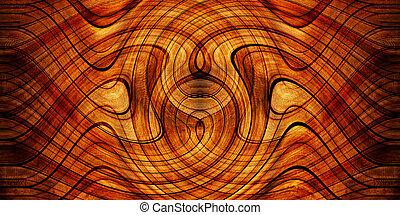 legno, fondo, piroetta