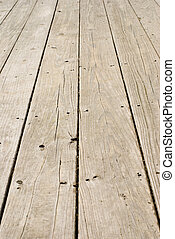 legno, grunge, unghia, vecchio, pavimento