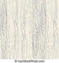 legno, legno, fondo., vettore, struttura, seamless, grano, pattern.