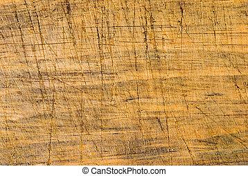 legno, linea, taglio, invecchiato, fondo