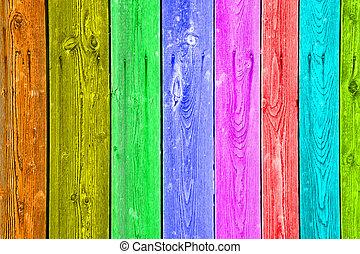 legno, multi-colore, struttura