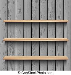 legno, negozio, sagoma, bacheca