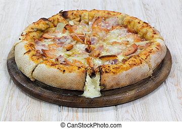 legno, pizza