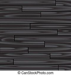 legno, sfondo nero, parquet