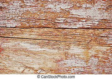 legno, vecchio, guastato