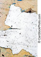 legno, vernice, bianco, vecchio, parete