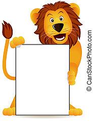 leone, bandiera