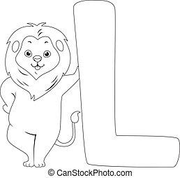 leone, coloritura, pagina