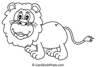 leone, coloritura
