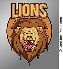 leone, mascotte