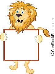 leone, segno banca