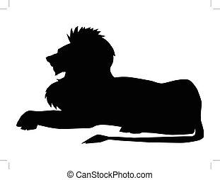 leone, simbolo, potere