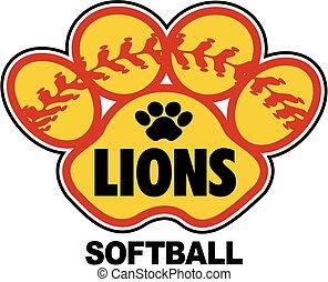 leoni, softball