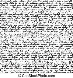 lettera, scritto mano