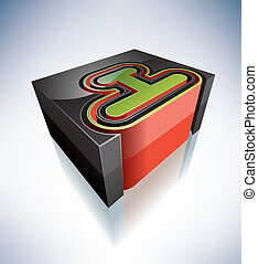 letters:, 3d