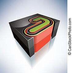 letters:, j, 3d