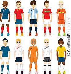 lettori, nazionale, squadra calcio