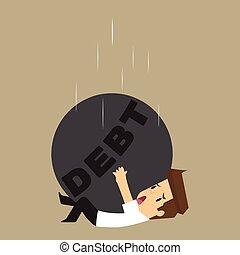 liabilities, affari, pendolo, viaggiatori, goccia, barra obliqua, maschio