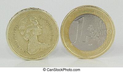libbra, lato, euro