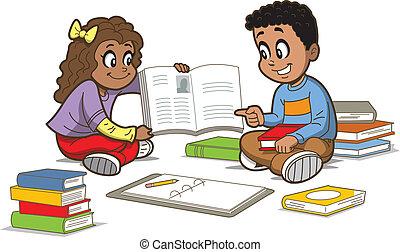 libri, bambini