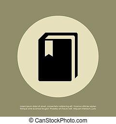 libro, icona