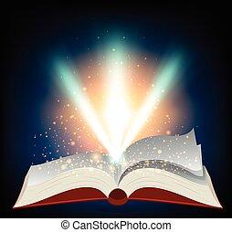libro, luce rossa, scoppio
