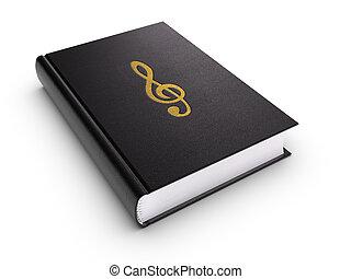 libro, musica