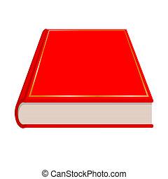 libro rosso, vettore