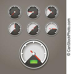 limite velocità, web, collezione, icone