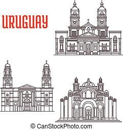 limiti, icone, uruguay, architettura