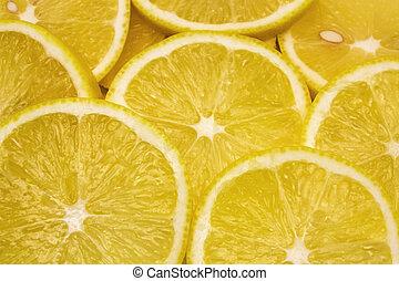 limone, succoso, fondo