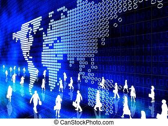 linea, affari globali