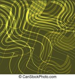 linea, astratto, curva, fondo, giallo