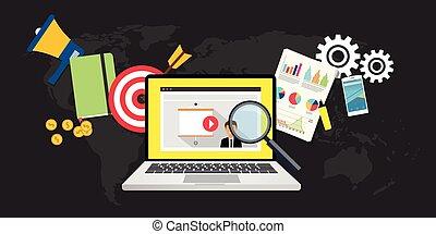 linea, marketing, video