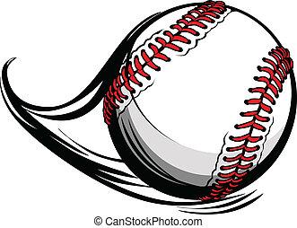 linee, illustrazione, movimento, vettore, baseball, softball, o, movimento