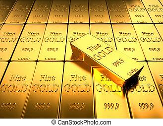 lingotto, oro