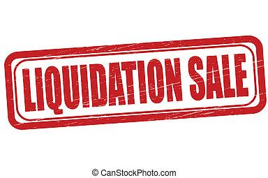 liquidazione, vendita