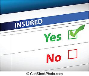 lista, sopra, selezione, assicurazione