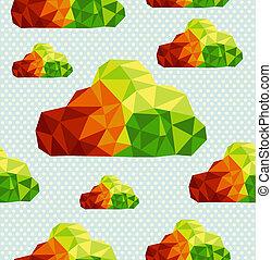 livelli, eps10, file, colorito, modello, astratto, organizzato, seamless, forme, fondo., editing., vettore, facile, geometrico, nuvola