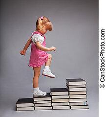 livello, successo, uno, andare, un altro, educazione