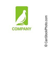 logotipo, 2, colomba, idea