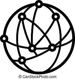 logotipo, astronomia