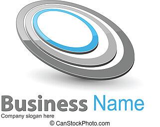 logotipo, business.