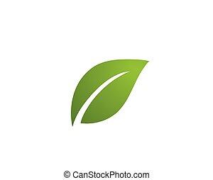 logotipo, ecologia, -, illustrazione, vectors